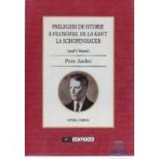 Prelegeri de istorie a filosofiei de la Kant la Schopenhauer Vol. 1 - Petre Andrei