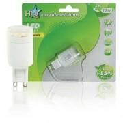 HQ G9 Lampada LED, 2 W, colore luce: Bianco caldo