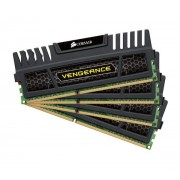 Vengeance Series 32 Go (4 x 8 Go) DDR3 1866 MHz CL9 - Kit Quad Channel DDR3 PC3-14900 - CMZ16GX3M4X1866C9 (garan