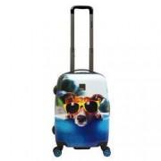 Saxoline Trolley 55cm 2 Rollen Happy Dog