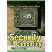 Security in Computing by Charles P. Pfleeger