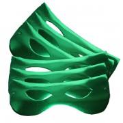 Papírszemüveg, fényes, zöld, 6 db/cs
