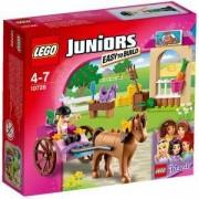 Конструктор Лего Джуниърс - Конната каляска на Stephanie - LEGO Juniors, 10726