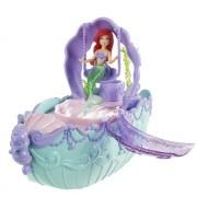Mattel - T7303 - Disney Prinzessin Ariel Wasserfall & Boot Bad Spielzeug