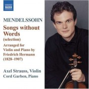 F. Mendelssohn-Bartholdy - Songs Without Words Arr. (0747313021376) (1 CD)