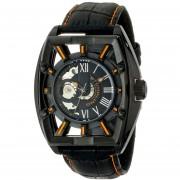 Stuhrling Original Mens 279335557 Xtreme Millennia Expo Analog Display Automatic Self Wind Black Watch