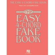 Easy 4-Chord Fake Book Melody Lyrics Simplified Chords in C Bk by Hal Leonard Publishing Corporation