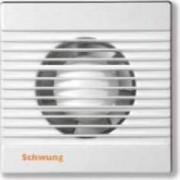 Fürdőszobai elszívó ventilátor d100 zsaluval Schwung