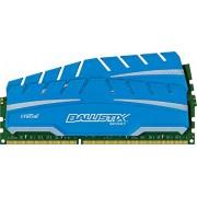 Ballistix Sport XT Kit Memoria da 8 GB (4 GBx2), DDR3, 1600 MT/s, (PC3-12800) UDIMM, 240-Pin - BLS2C4G3D169DS3CEU