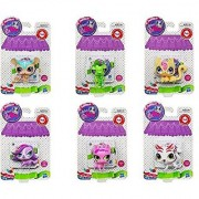 Sweetest Littlest Pet Shop Set of 6 #3057 Vinnie Terrio #3058 Cat #3053 Terrier #3056 Pig #3055 Mouse & #3054 Tiger
