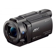 Sony Handycam FDR-AX33 - Caméscope - 4K - 18.9 MP - 10 x zoom optique - Carl Zeiss - carte Flash - Wi-Fi, NFC - noir