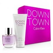Downtown Coffret: Eau De Parfum Spray 90ml/3oz + Body Lotion 200ml/6.7oz (Pink Box) 2pcs Downtown Casetă: Apă De Parfum Spray 90ml/3oz + Loțiune de Corp 200ml/6.7oz (Cutie Roz)