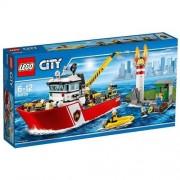 LEGO - 60109 - City - Le Bateau des Pompiers