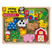 Alex Toys Early Learning String A Farm Little Hands