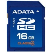 Card A-DATA de memorie SDHC 16GB Class 4