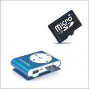 Tronica Bold Mp3 Player- Blue ( color may vary )