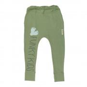 Pantaloni lungi Funky - verde, 1-2 ani
