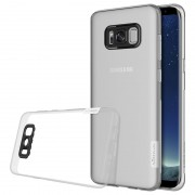 Capa TPU Nillkin Nature 0.6mm para Samsung Galaxy S8 - Transparente