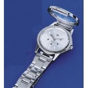 Ceas de mână Braille (tactil) RNIB, de damă, cu brăţară metalică