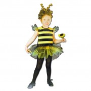 Girls Buzzy Bee Costume - Ages 4-6