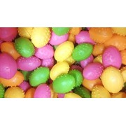 """New! Dinosaurs Eggs Each With Mini Toy Dinosaur Figure Inside Assorted Colors """"Value Pack Of 24 Pc."""" Packed By Mk Trading"""