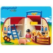 PLAYMOBIL 1.2.3 Take Along Barn by PLAYMOBIL [Toy] (English Manual)