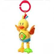 Плюшена детска играчка за кошарка и количка Патенце - 1143 Babyono, 9070073