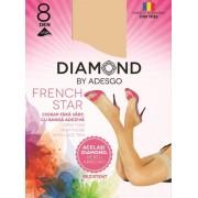 Ciorapi adezivi Diamond French Star 8 D