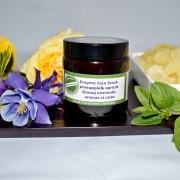 Gomaj enzimatic cu ananas si caise - QI Cosmetics Longeviv.ro