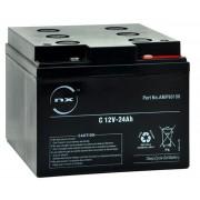 Batería de gel 12 Voltios 24 Amperios 165x 176x 125mm 12V-24Ah especial Kaddam