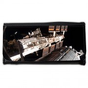 Cartera unisex // M00291098 Giapponese Spazio Stazione Spaziale // Large Size Wallet