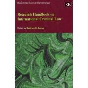 Research Handbook on International Criminal Law by Bartram S. Brown