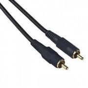 Audio Kabl 1x činč (muški) na 1x činč (muški), 1.5 m, pozlaćeni, HAMA 42721
