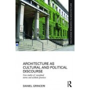 Architecture as Cultural and Political Discourse: Case Studies of Conceptual Norms and Aesthetic Practices