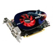 MSI R5750-PM2D1G - Carte graphique - Radeon HD 5750 - 1 Go GDDR5 - PCIe 2.1 x16 - DVI, HDMI, DisplayPort