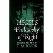 Philosophy of Right by G. W. F. Hegel