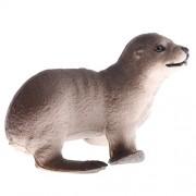 Baoblae Realistic Animal Sea Lion Cub Model Action Figures Playset Kids Toys
