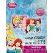 Disney Princess Ariel, Belle, Rapunzel, & Snow White Set of 2 Swimming Pool Arm Floats by What Kids Want