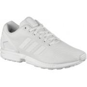 adidas ZX Flux Sneaker in weiß/ weiß, Größe 44