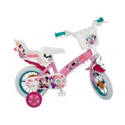 "Bicicleta 12"" Minnie Mouse Club House, fete"