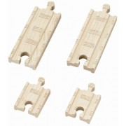 Thomas & Friends Wooden Railway - 2 Inch and 4 Inch Straight Track (4 pieces) (japan import)