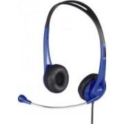 Casti stereo Hama HS 260 Blue