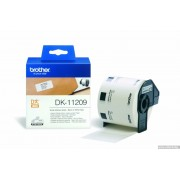 BROTHER DK Tape 29mm Black on White, 800 labels per roll, for P-Touch (DK11209)