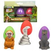 Animal Planet Grow Eggs- Rain Forest- Hatch and Grow Three Different Super-Sized Animals (Series 1)