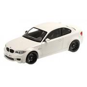 Minichamps 110020022 - 1:18 2011 BMW 1ERM Coupe, Bianco