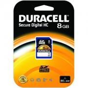 Duracell 8GB SDHC card (Class 4) (DU-SD-8192-R)
