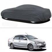 Millionaro - Heavy Duty Double Stiching Car Body Cover For Toyota Etios
