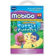 VTech - Mobigo Learning Game - Pack of 3 Games : Thomas & Friends, Team Umizoomi, Bubble Guppies - Value Pack