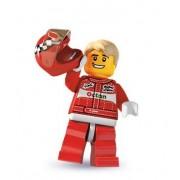 LEGO 8803 Minifigures Serie 3 - Minifigura de piloto de carreras