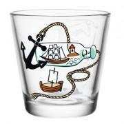 Mumin dricksglas, Mumintrollet metar